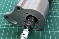 3D tisk Brno - držák motoru